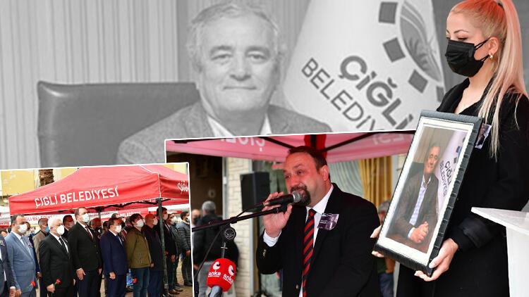 Koronavirüsten ölen Çiğli Belediye Başkan Yardımcısı  Mustafa Avdan'a acı veda