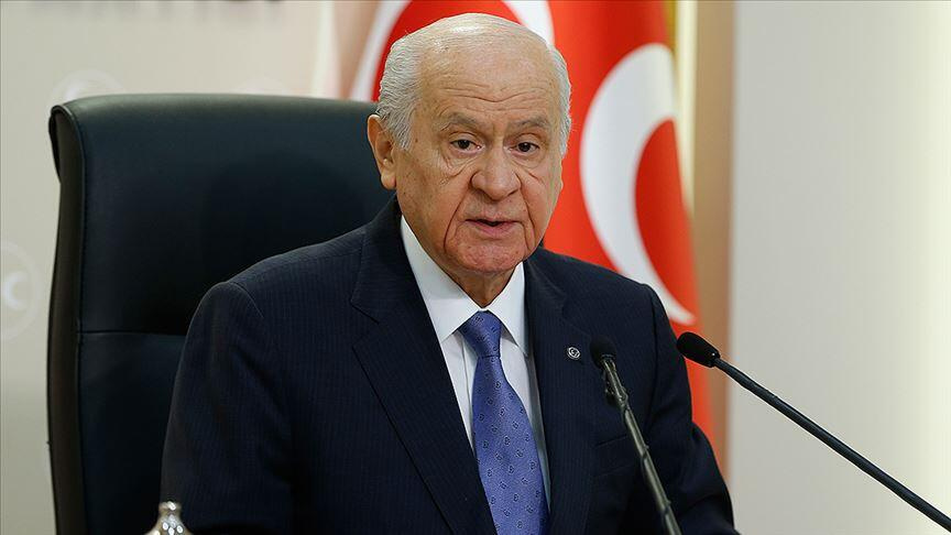 MHP lideri Devlet Bahçeli: Şerefli geçmişimizde soykırım ifadesi yoktur