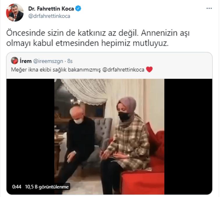 Sağlık Bakanı Fahrettin Kocadan sürpriz telefon Yeni ekibin oluşturulduğunu söylemişti
