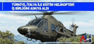 Türkiye, İtalya ile eğitim helikopteri iş birliğini askıya aldı