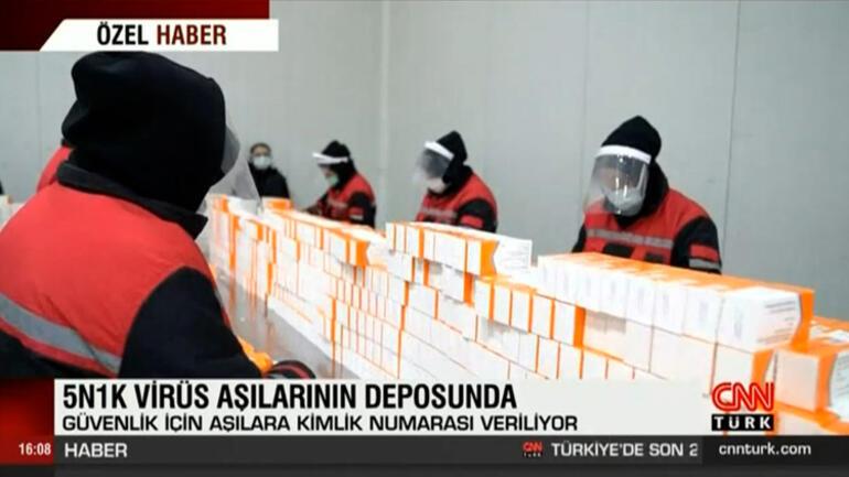 Türkiyedeki Pfizer/Biontech aşıları burada saklanıyor Dikkat çeken 3 dakika detayı