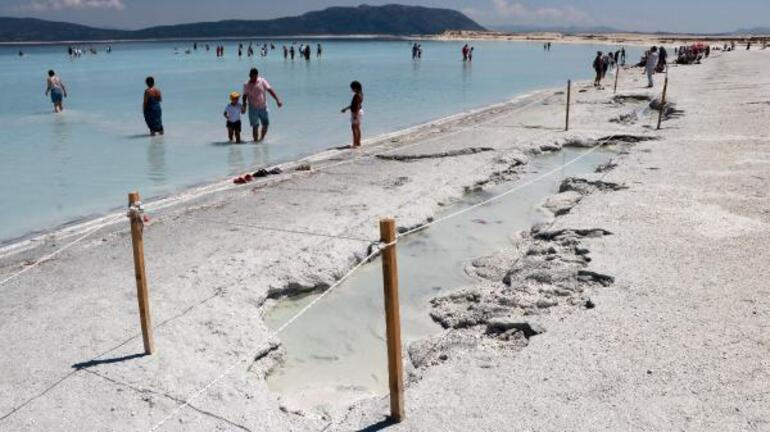 Türkiyenin Maldivleri Salda Gölünde yeni yasak kararları