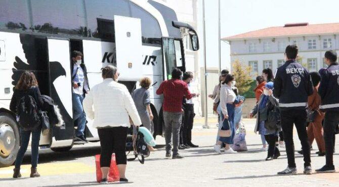 Yolcu pozitif çıktı, otobüsteki 47 kişi karantinada