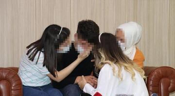 Örgütten kaçıp teslim olan PKKlı, ailesiyle buluştu