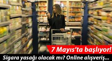 İçişleri Bakanlığından market genelgesiyle ilgili yeni açıklama geldi: Sigara yasağı ve online alışveriş...