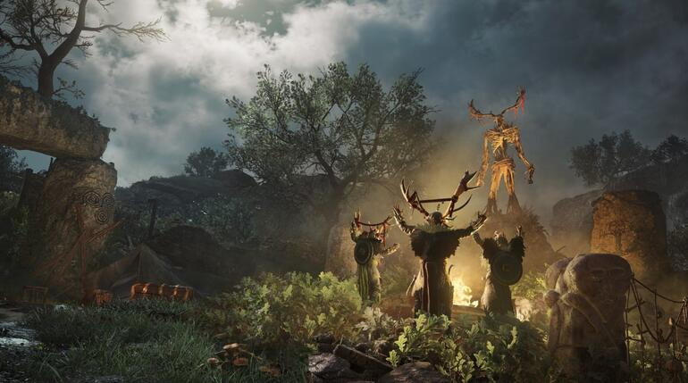 Assassins Creed Valhalla: Wrath of the Druids oyunculara sunuldu
