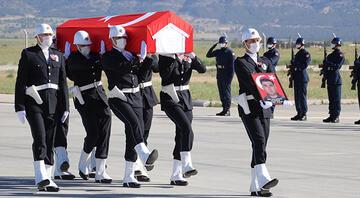 Şehit Özel Harekat Polisi Veli Kabalayın cenazesi Denizliye getirildi