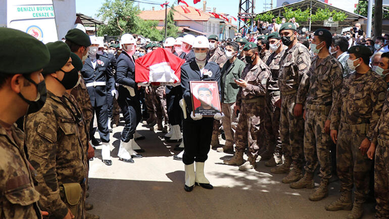 Şehit Özel Harekat Polisi Veli Kabalaya acı veda
