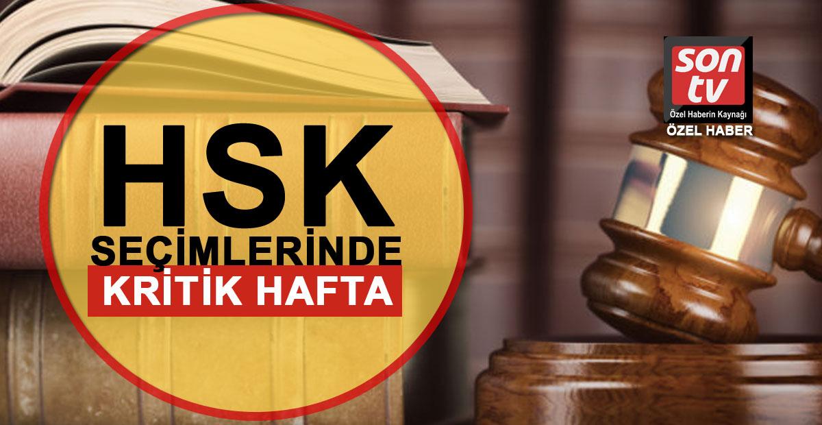 HSK seçimlerinde kritik hafta | SON TV