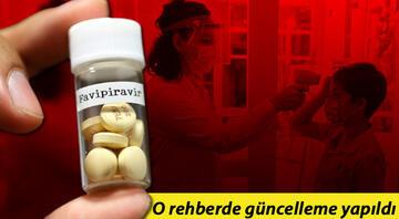 Sağlık Bakanlığı rehberini güncelledi Dikkat çeken Favipiravir kararı