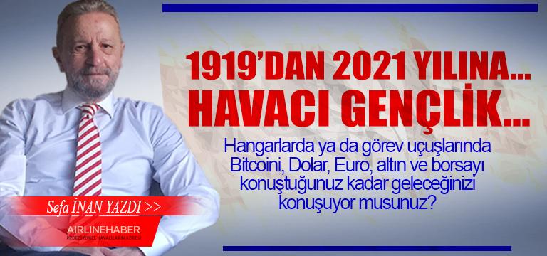1919'dan 2021 Yılına… Havacı Gençlik…