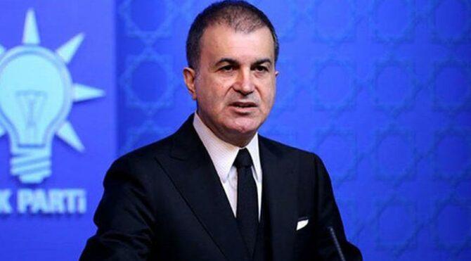 AKP'li Ömer Çelik'ten Anastasiadis'e tepki: Aynen iade ediyoruz