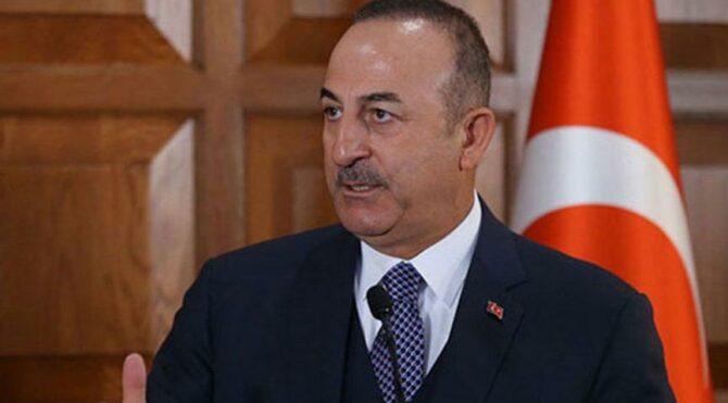 Çavuşoğlu: Filistin davasını savunmaktan asla vazgeçmeyeceğiz