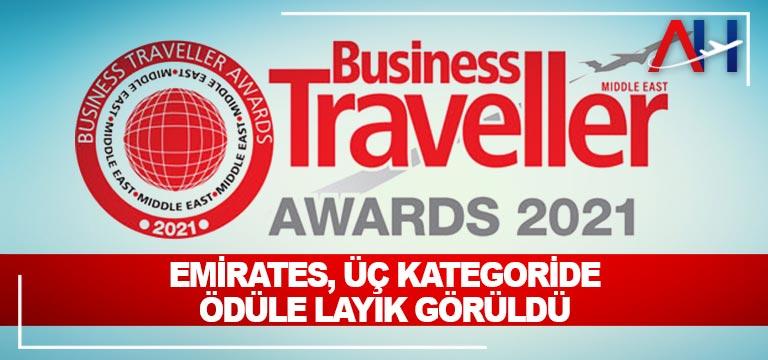 Emirates, Üç Kategoride Ödüle Layık Görüldü