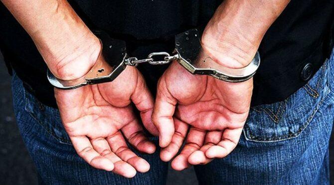 Evden servet çalan hırsızlar tutuklandı
