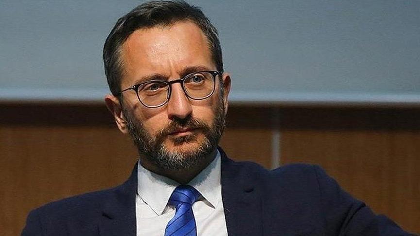 Fahrettin Altun: İsrail'e karşı çıkma cesareti olmayanlar, asıl şiddetin kışkırtıcılarıdır