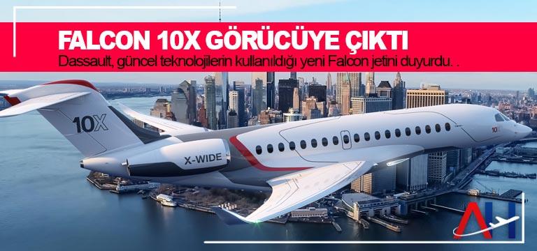 Falcon 10X görücüye çıktı