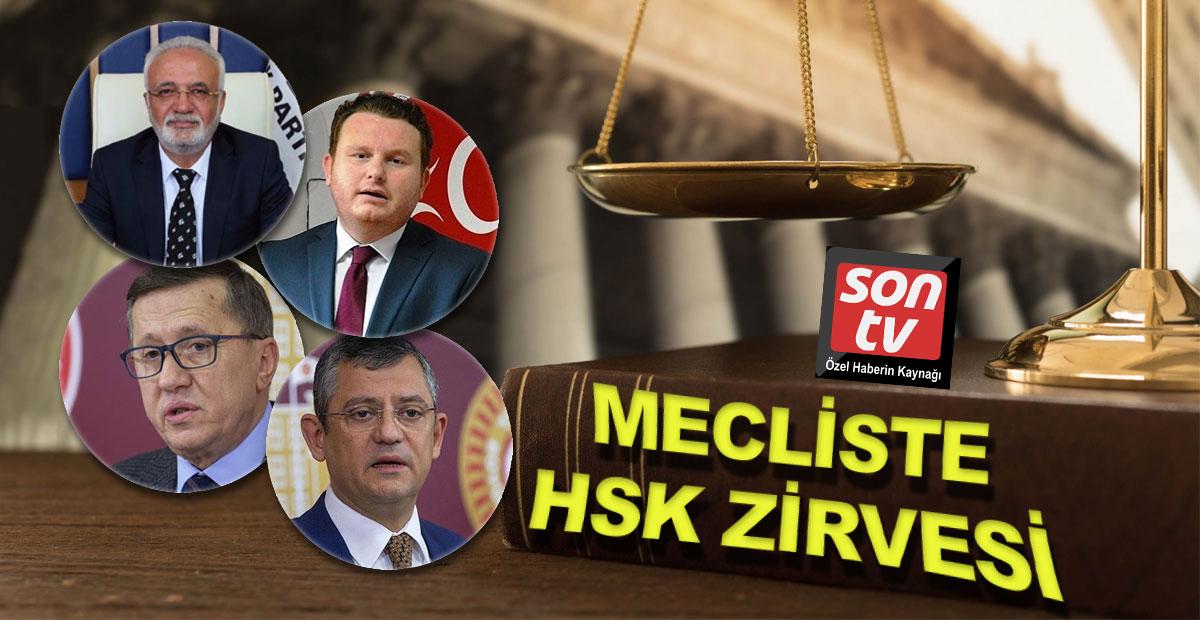 Mecliste HSK zirvesi | SON TV