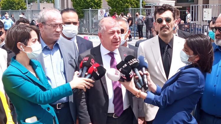 Milletvekili Ümit Özdağ'ın Buğra Kavuncu soruşturmasında ifadesine başvuruldu
