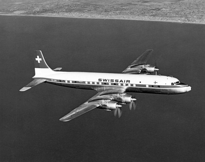 DC 7 SWISSAIR