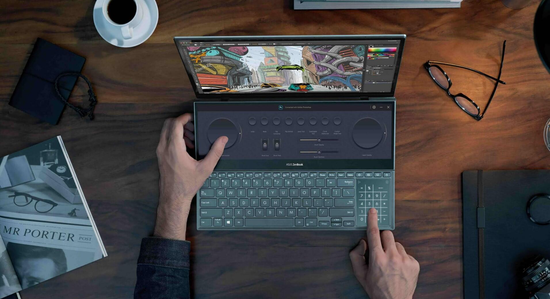 Asus Zenbook Pro Duo OLED UX582 tanıtıldı