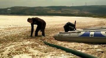 Deniz salyası Erdekte de görüldü Rezervasyon iptalleri var, turizmciler endişeli