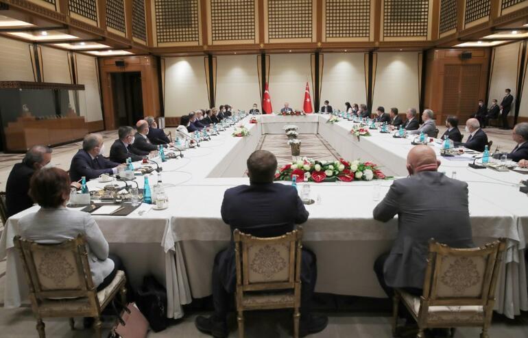 Cumhurbaşkanı Erdoğandan akademisyenlerle müsilaj toplantısı