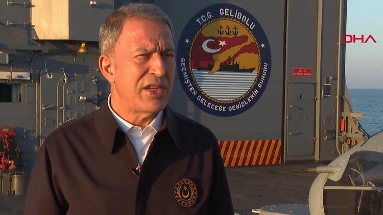 Son dakika: Bakan Akar: Türkiye, Libya'da yabancı güç değildir