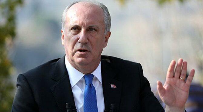Muharrem İnce'den Erdoğan'a 'hamdolsun' tepkisi: Bence doktora görün