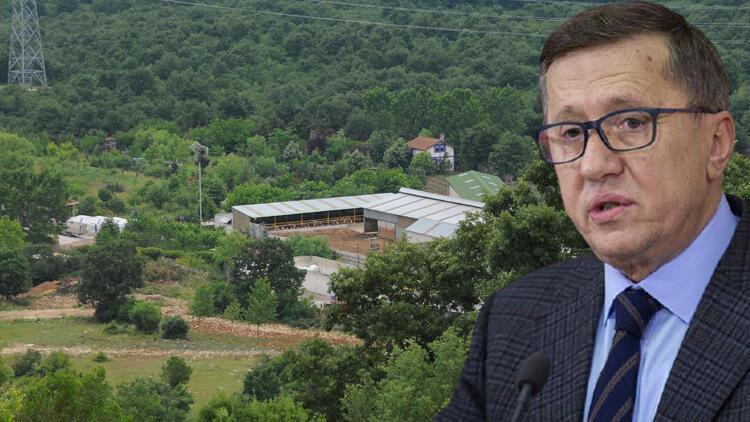 İYİ Parti Milletvekili Lütfü Türkkan'a ait kaçak çiftlik tahliye ediliyor
