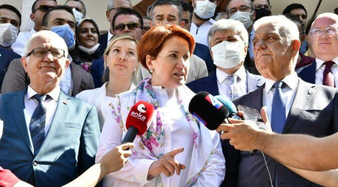 Akşener'den Erdoğan'a dikkat çeken 'söke söke alırlar' yanıtı