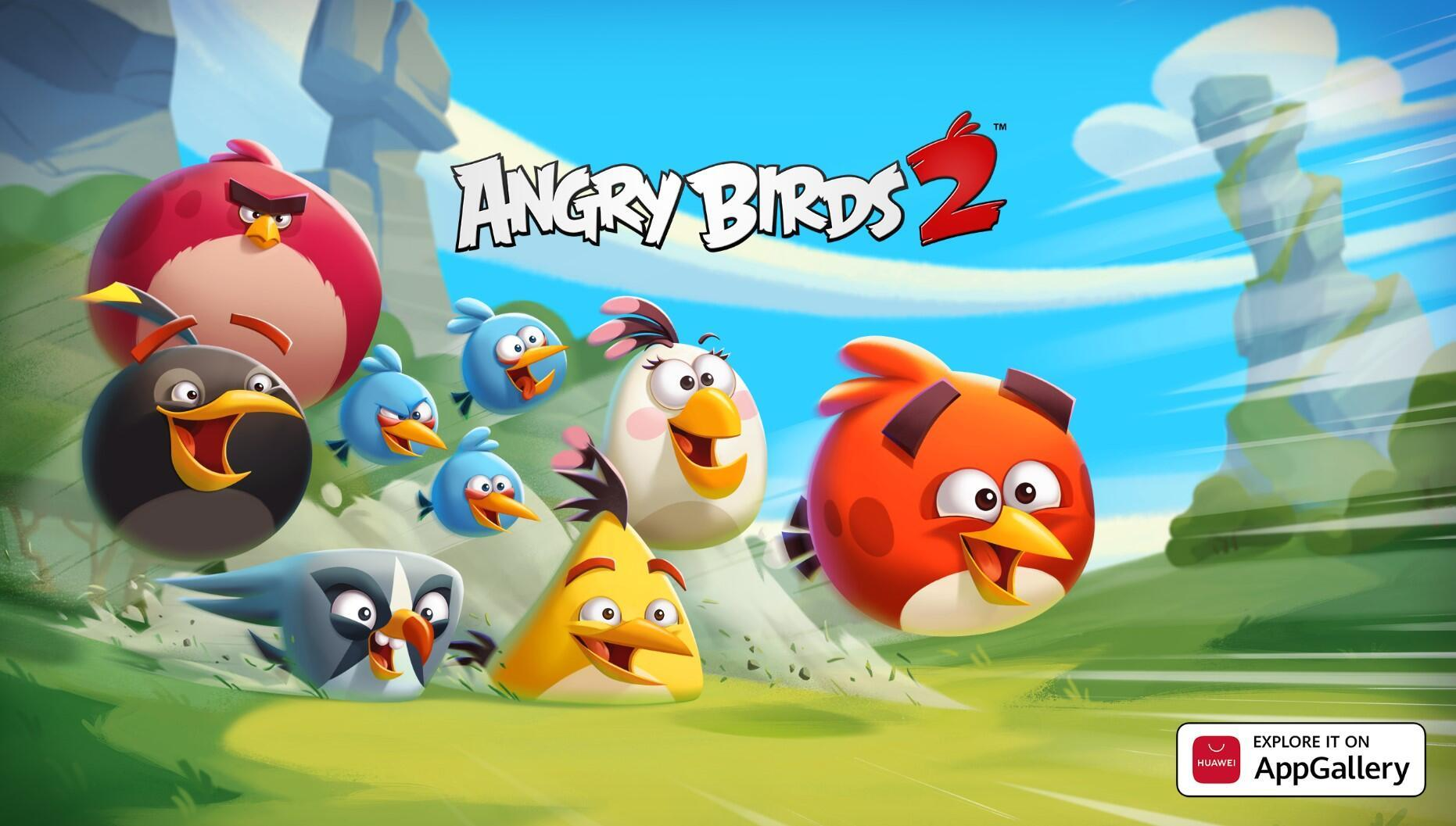 Angry Birds 2 artık AppGallery'de