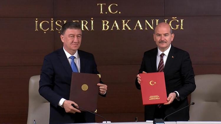 Bakan Soylu'dan Özbek mevkidaşına 'FETÖ ile mücadele' teşekkürü