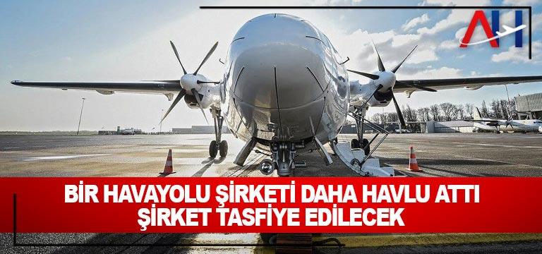 Bir Havayolu Şirketi DahaHavlu Attı
