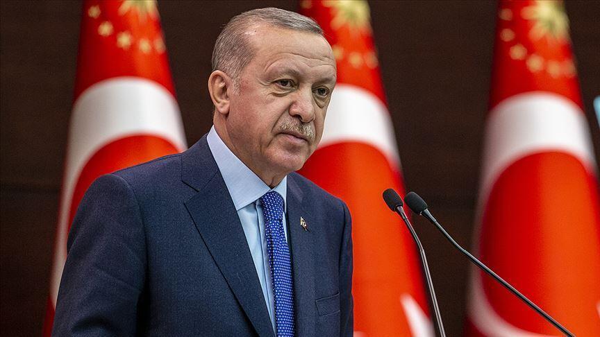 Cumhurbaşkanı Erdoğan'dan 'Dünya Mülteciler Günü' mesajı