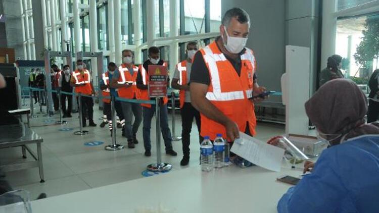 İstanbul Havalimanı'nda aşı merkezi hizmete girdi!