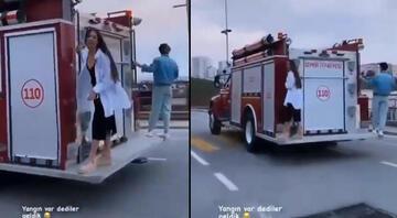 İzmir İtfaiyesinde tepki çeken görüntülere soruşturma