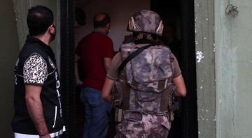 İstanbul Pendikte uyuşturucu satıcılarına operasyon
