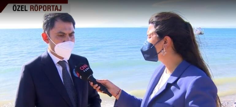 Son dakika: Bakan Kurumdan Marmara Denizindeki deniz salyasına ilişkin açıklama
