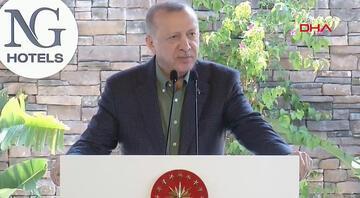 Cumhurbaşkanı Erdoğan otel açılışında konuştu: Pazartesi günü inşallah bu müjdeyi ayrıca veririz