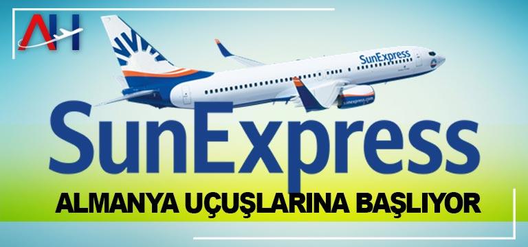 SunExpress, Almanya uçuşlarına başlıyor