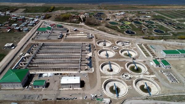 Van Gölü'nü kirlilikten kurtaracak tesis Dünya Çevre Günü'nde açılıyor