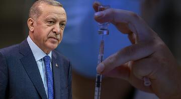 Cumhurbaşkanı Erdoğan duyurdu Türkiyede uygulanan koronavirüs aşı sayısı 50 milyonu aştı