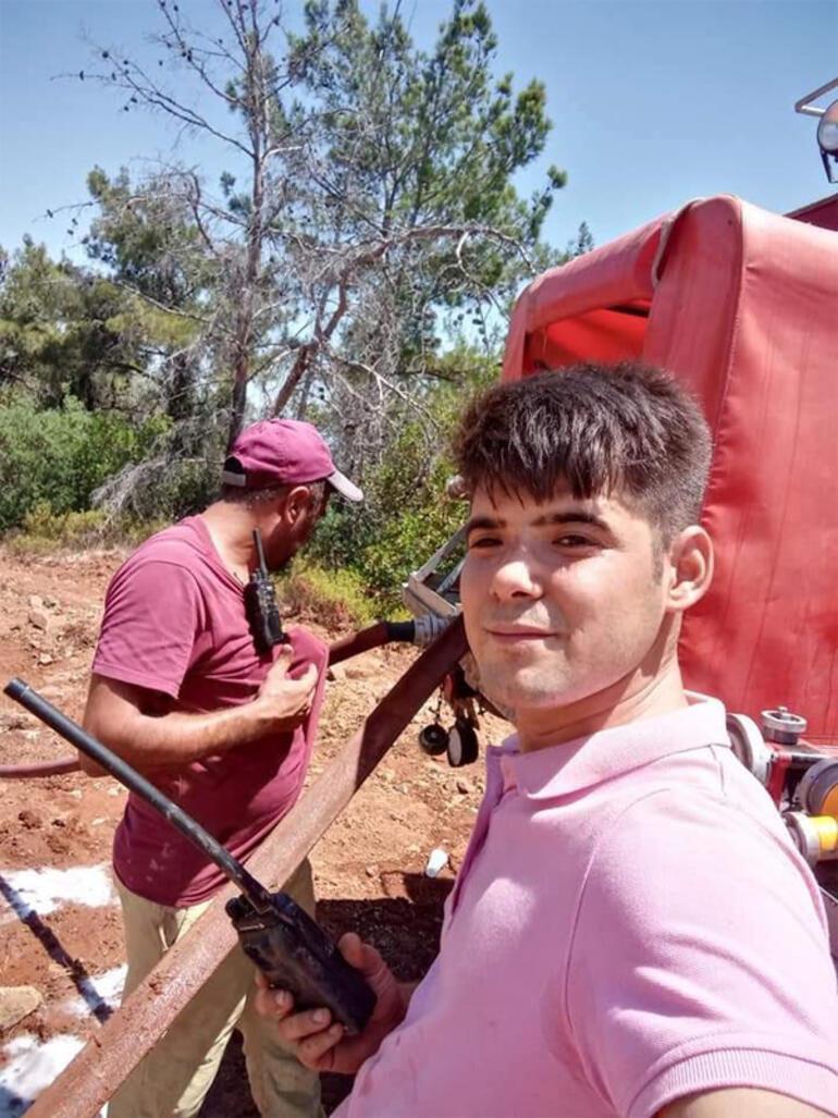 İtfaiyecilere yardım eden Şahin Akdemir hayatını kaybetti Son paylaşımı yürek burktu