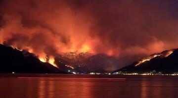 Marmaristeki orman yangın Bir kişi hayatını kaybetti, bölgeden dehşet verici kareler geliyor...