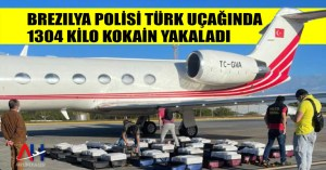 Brezilya polisi Türk uçağında 1304 kilo kokain yakaladı - Airline Haber