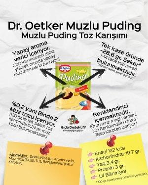 Dr Oetker Muzlu Puding Toz Karışımı - Gıda Dedektifi
