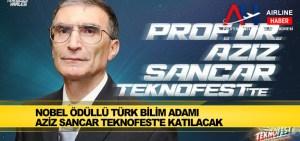 Nobel ödüllü Türk bilim adamı Aziz Sancar TEKNOFEST'e katılacak