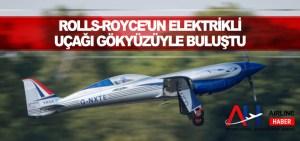 Rolls-Royce'un elektrikli uçağı ilk uçuşunu tamamladı