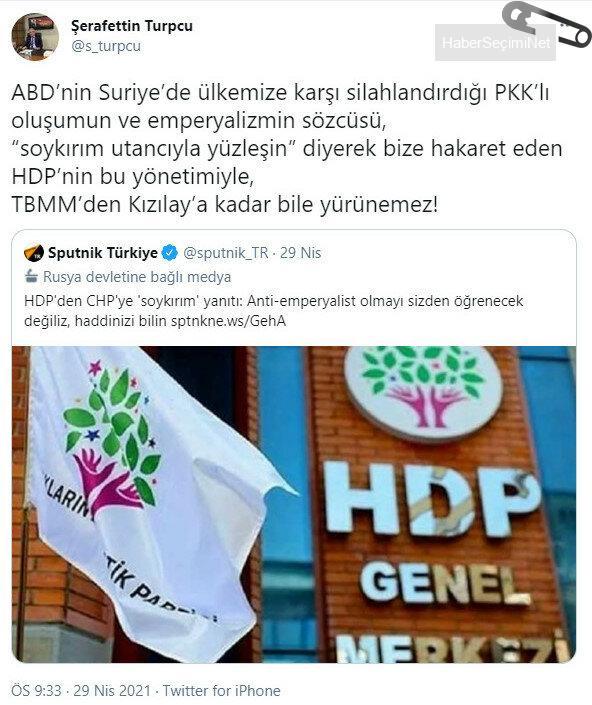 HaberSeçimiNet HDP-CHP ittifakında 'had bildirme' tartışması sürüyor